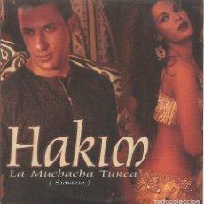 CDs de Música: HAKIM - LA MUCHACHA TURCA (CDSINGLE CARTON PROMO, SONY 2001). Lote 235143845