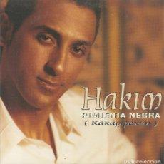 CDs de Música: HAKIM - PIMIENTA NEGRA / LA MUCHACHA TURCA (CDSINGLE CARTON PROMO, SONY 2001). Lote 235144200
