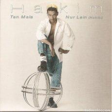 CDs de Música: HAKIM - TAN MALA / NUR LAIN (CDSINGLE CARTON PROMO, SONY 1998). Lote 235145325