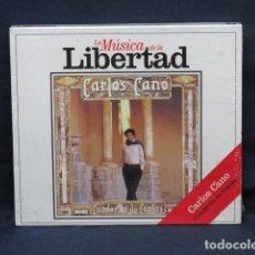 CDs de Música: CARLOS CANO - CUADERNO DE COPLAS - CD. Lote 235146610