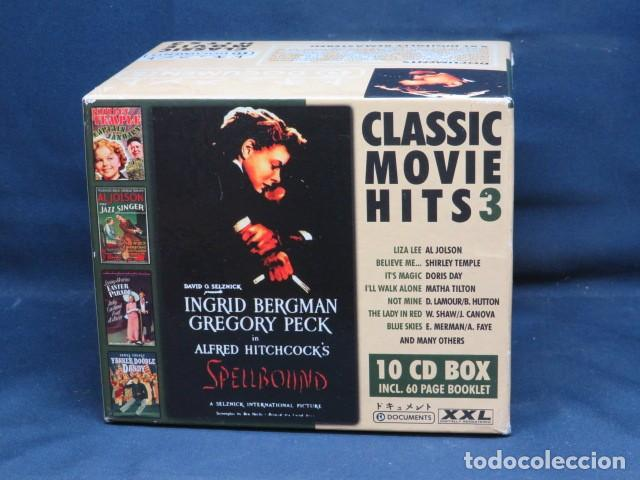 CLASSIC MOVIE HITS 3 - 10 CD BOX (Música - CD's Bandas Sonoras)