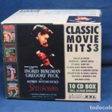 CDs de Música: CLASSIC MOVIE HITS 3 - 10 CD BOX. Lote 235154545