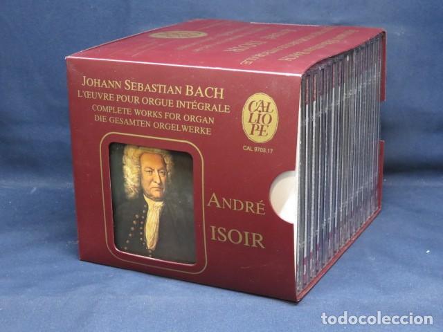 JOHANN SEBASTIAN BACH - ANDRÉ ISOIR - L'ŒUVRE POUR ORGUE INTÉGRALE - 15 CD (Música - CD's Clásica, Ópera, Zarzuela y Marchas)