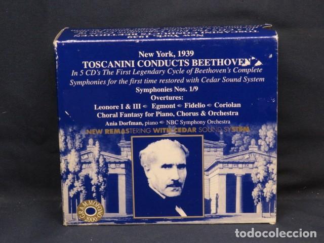 ARTURO TOSCANINI - TOSCANINI CONDUCTS BEETHOVEN - 5 CD (Música - CD's Clásica, Ópera, Zarzuela y Marchas)