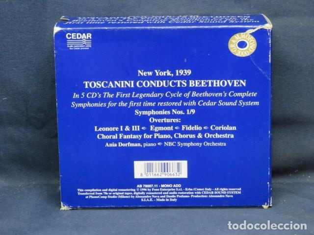CDs de Música: Arturo Toscanini - Toscanini Conducts Beethoven - 5 CD - Foto 2 - 235157345