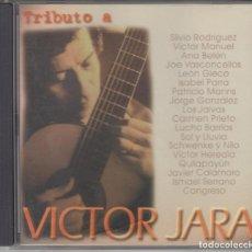 CDs de Música: TRIBUTO A VÍCTOR JARA CD 1998 SILVIO RODRÍGUEZ VÍCTOR MANUEL JAVIER CALAMARO QUILAPAYÚN ANA BELÉN. Lote 235159335