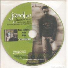 CDs de Música: JACOBO - SEGUIRILLA STREET (CDSINGLE PICTURE PROMO, PRODUCCIONES SAR 2004). Lote 235164805