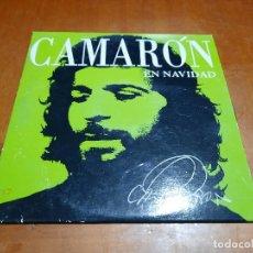 CDs de Música: CAMARÓN DE LA ISLA. EN NAVIDAD. CD PROMO EN CARTÓN. BUEN ESTADO. DIFICIL DE CONSEGUIR. Lote 235165835