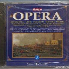 CDs de Música: CD. TIEMPO DE OPERA. 5. PRECINTADO. Lote 235180080