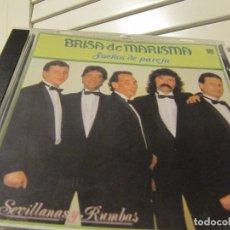 CDs de Música: BRISA DE MARISMA-SUEÑOS DE PAREJA-SEVILLANAS Y RUMBAS-CD 1992. Lote 235186250