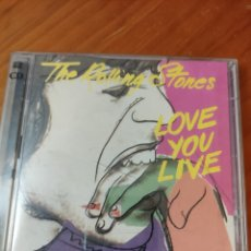 CDs de Música: 2CDS THE ROLLING STONES. LOVE YOU LIVE. Lote 235188800