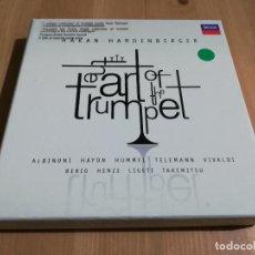 CDs de Música: THE ART OF THE TRUMPET (HAKAN HARDENBERGER) 5 CD'S. Lote 235191040