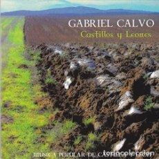 CDs de Música: CASTILLOS Y LEONES GABRIEL CALVO MUSICA POPULAR DE CASTILLA Y LEON. Lote 235193285