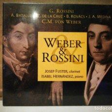 CDs de Música: WEBER & ROSSINI. Lote 235193595