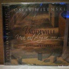 CDs de Música: OSIAS WILENSKI/VAUDEVILLE. Lote 235198385