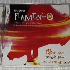 CDs de Música: CD- NUEVO FLAMENCO - MADE IN UK - RIQUEÑI, TOMATITO,MORENTE,EL POTITO,PATA NEGRA,SONGHAI,AURORA. Lote 235222445