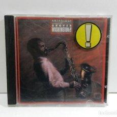 CDs de Música: DISCO CD. GROVER WASHINGTON, JR. – ANTHOLOGY OF GROVER WASHINGTON JR.. COMPACT DISC.. Lote 235229635