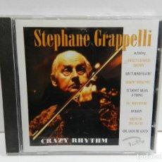 CDs de Música: DISCO CD. STEPHANE GRAPPELLI – CRAZY RHYTHM. COMPACT DISC.. Lote 235231315