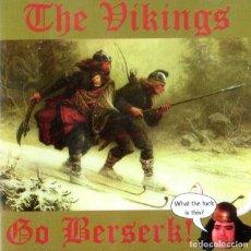 CDs de Música: THE VIKINGS - GO BERSERK!. Lote 235243600