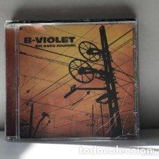 CDs de Música: CD B-VIOLET - EN ESTE MUNDO. Lote 235263740