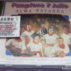 CDs de Música: PAMPLONA 7 JULIO - ALMA NAVARRA - CD. Lote 235269220