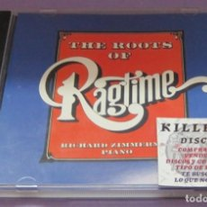 CDs de Música: THE ROOTS OF RAGTIME - RICHARD ZIMMERMAN / PIANO - CD. Lote 235270840