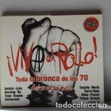 CDs de Música: CD VIVA EL ROLLO (2 CDS). Lote 235271060