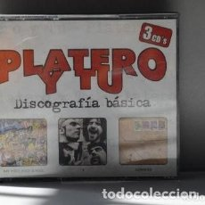 CDs de Música: CD PLATERO Y TU - DISCOGRAFIA BASICA (3 DCS). Lote 235271590
