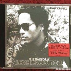 CDs de Musique: LENNY KRAVITZ (IT IS TIME FOR A LOVE REVOLUTION) CD 2008. Lote 235273350