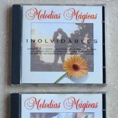 CDs de Música: 2 CD MELODÍAS MÁGICAS (GUITARRA + INOLVIDABLES). Lote 235275235