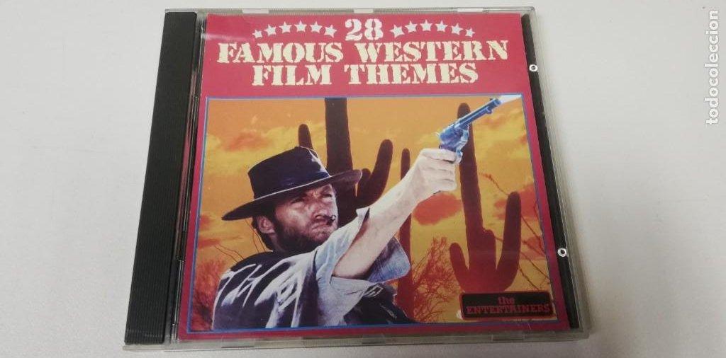 C5- 28 FAMOUS WESTERN FILM THEMES-CD (DISCO NUEVO) (Música - CD's Otros Estilos)