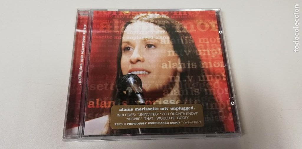 C5- ALANIS MORISSETTE MTV UNPLUGGED -CD (DISCO NUEVO) (Música - CD's Otros Estilos)