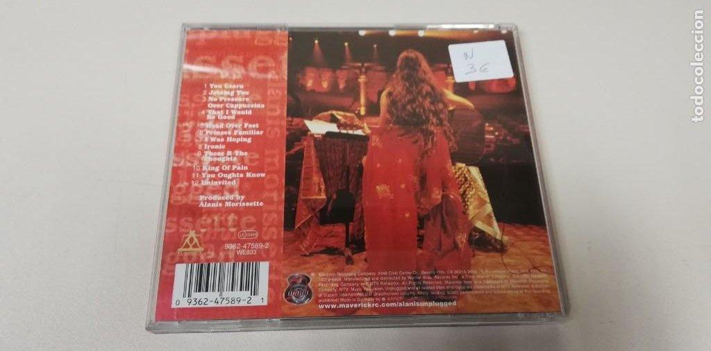 CDs de Música: C5- ALANIS MORISSETTE MTV UNPLUGGED -CD (DISCO NUEVO) - Foto 2 - 235287790