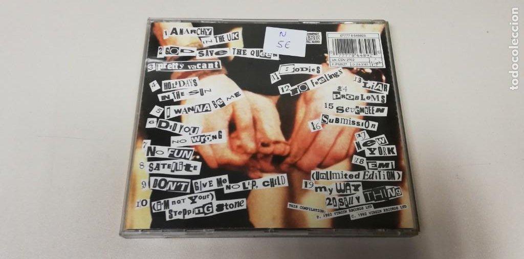 CDs de Música: C5- SEX PISTOLS -CD (DISCO NUEVO) - Foto 2 - 235288430