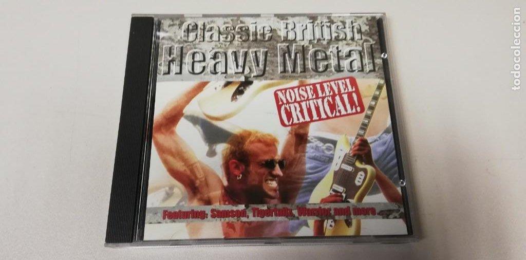 C5- CLASSIC BRITISH HEAVY METAL NOISE LEVEL CRITICAL! -CD (DISCO NUEVO) (Música - CD's Otros Estilos)