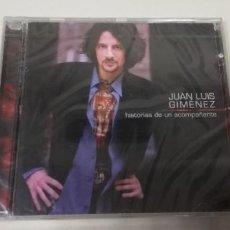 CDs de Música: C5- JUAN LUIS GIMENEZ HISTORIAS DE UN ACOMPAÑANTE -CD PRECINTADO. Lote 235292875
