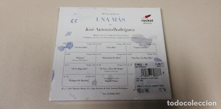 CDs de Música: C5- JOSE ANTONIO RODRIGUEZ UNA MAS -CD PRECINTADO - Foto 2 - 235295535
