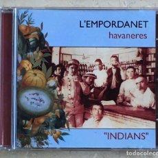 CDs de Música: CD L'EMPORDANET - INDIANS. Lote 235296330