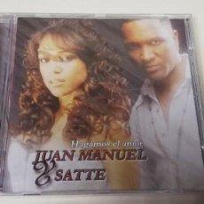 CDs de Música: C5- HAGAMOS EL AMOR JUAN MANUEL & SATTE -CD PRECINTADO. Lote 235297150