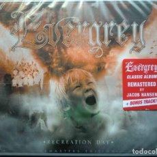 CDs de Música: CD EVERGREY: RECREATION DAY (2003) REMASTERS EDITION. NUEVO Y PRECINTADO. + REGALO CD!!. Lote 235323675