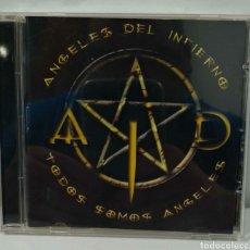 CDs de Música: CD ÁNGELES DEL INFIERNO. Lote 235335510