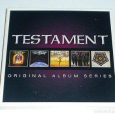 CDs de Música: CD BOX TESTAMENT - ORIGINAL ALBUM SERIES. Lote 235341230