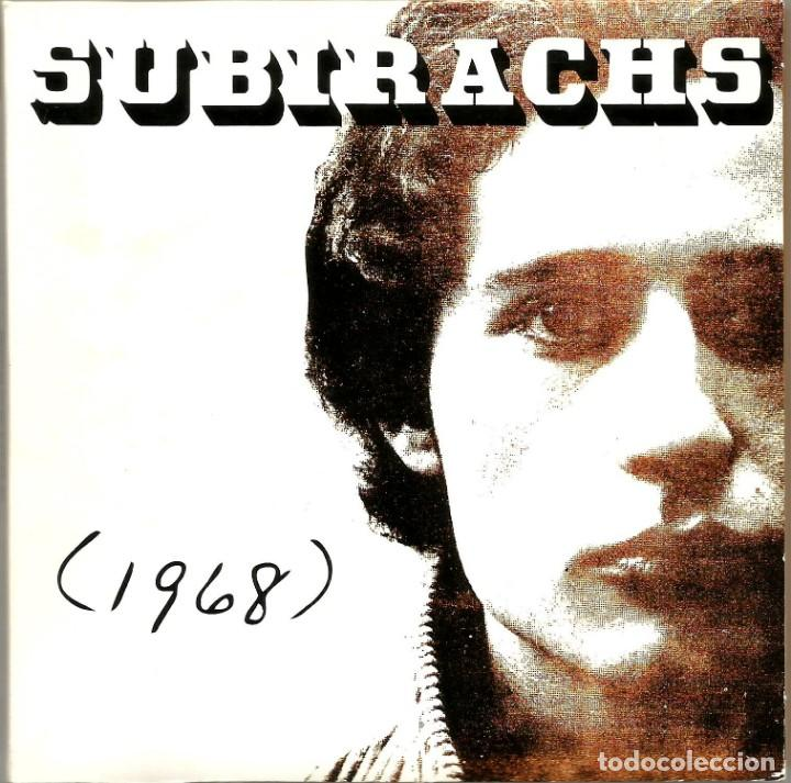 RAFAEL SUBIRACHS (1968) (CD) - 2005 - CANÇÓ CATALANA (Música - CD's Otros Estilos)