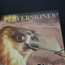 """CDs de Música: CD PROMO BARON ROJO """"PERVERSIONES"""". Lote 235382925"""