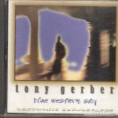 CDs de Musique: TONY GERBER - BLUE WESTERN SKY (CD, LEKTRONIC SOUNDSCAPES 1994). Lote 235430955