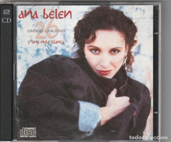 ANA BELEN - 26 GRANDES CANCIONES Y UNA NUBE BLANCA (DOBLE CD COLUMBIA 1989) (Música - CD's Pop)