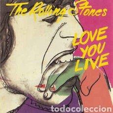 CDs de Música: 2 X CD ALBUM , THE ROLLING STONES , LOVE YOU LIVE , IMPORT.UK.. Lote 235458550