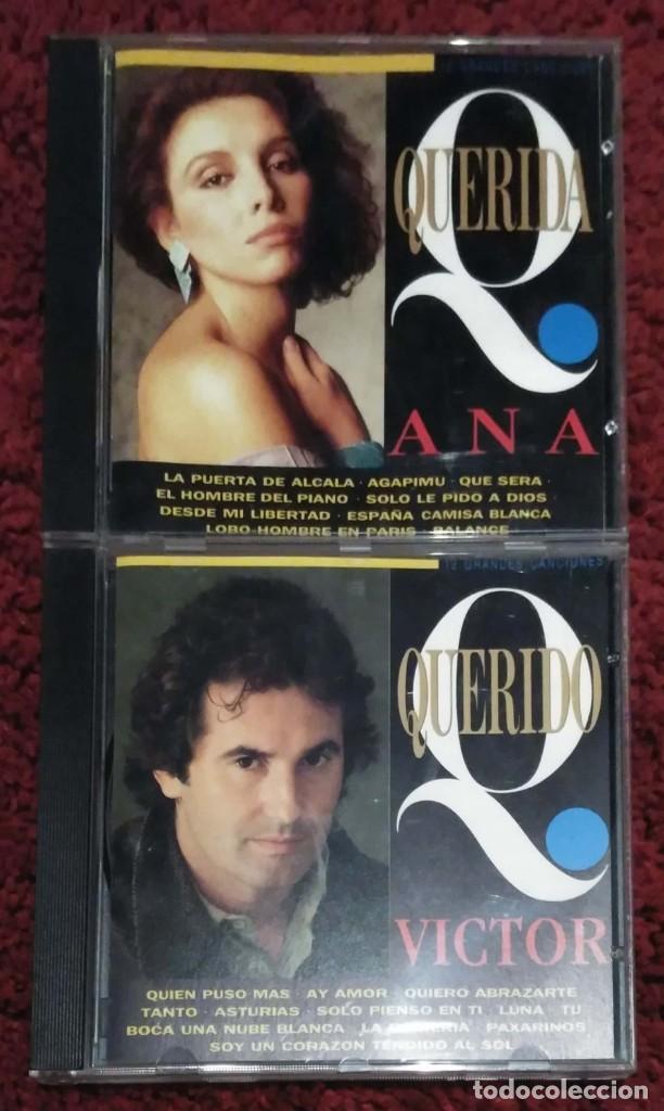 ANA BELEN Y VICTOR MANUEL (QUERIDA ANA Y QUERIDO VICTOR) 2 CD'S 1993 (Música - CD's Melódica )