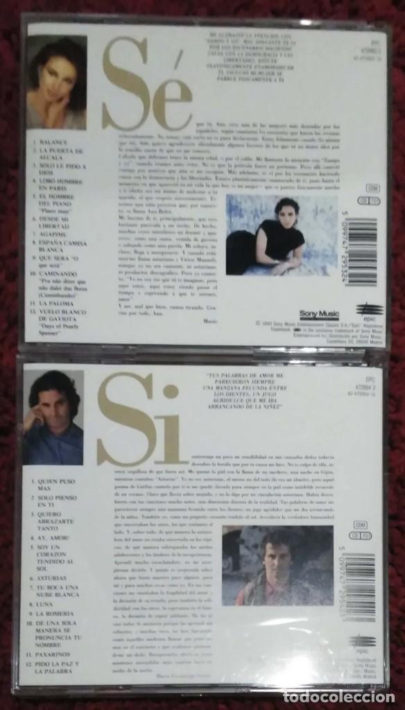CDs de Música: ANA BELEN Y VICTOR MANUEL (QUERIDA ANA Y QUERIDO VICTOR) 2 CDs 1993 - Foto 2 - 235547080