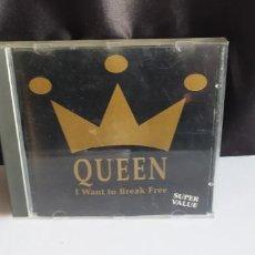 CDs de Música: QUEEN - I WANT TO BE FREE ON STAGE SUPER VALUE DIFICIL BUEN ESTADO. Lote 235552385